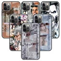 teen wolf derek hale glass case for apple iphone 11 12 pro 7 capas for apple xr x xs max 6 6s 8 plus phone funda cover