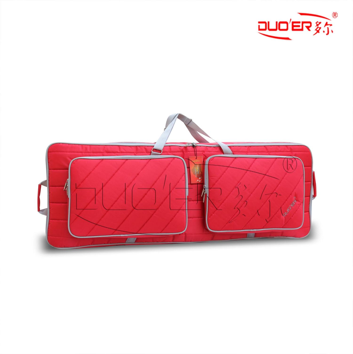 Duoer Electronic Keyboard Bag 61 Keys 76 Keys Keyboard Bags Waterproof Thick Stripe Style Factory Wholesal Customize Bags enlarge