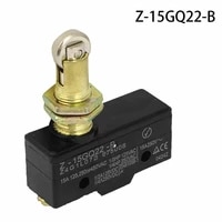 1pcs 15a z 15gq22 b spsd panel mount roller plunger basic 1no 1nc limit switch 12mm