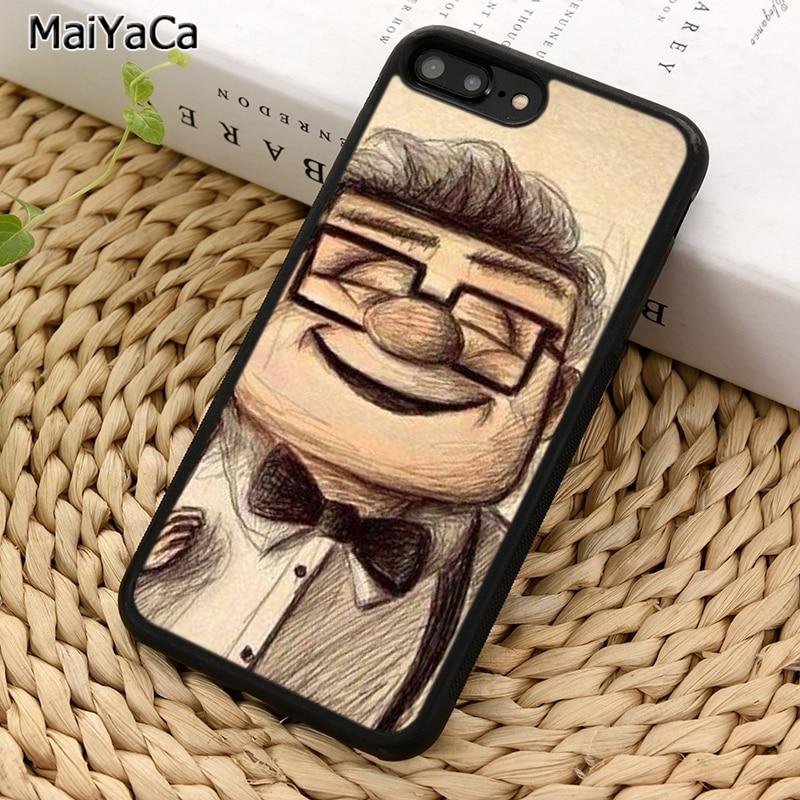 MaiYaCa много Карл и Элли вверх влюбленных Пара 1 чехол для телефона для iPhone 5 6 7 8 plus 11 Pro X XR XS Max samsung S7 S8 S9 S10