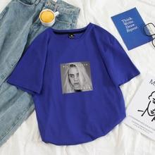 Billie Eilish Music Vintage T Shirt 100% Cotton Short Sleeve Music T-shirts for Men/Women New S-XXXXL Mens Cool T Shirts