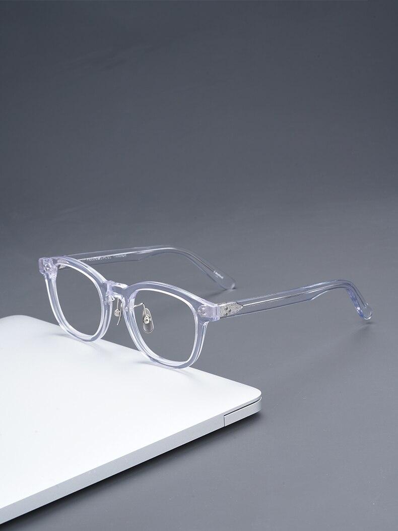 شفافة النظارات خلات النظارات إطارات نظارات دائرية إطارات الرجال مصمم النظارات النسائية النظارات إطارات النظارات البصرية