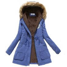 ZOGAA Women Winter Warm Fur Coat Female Autumn Hooded Cotton Fur Plus Size Basic Jacket Outerwear Slim Long Ladies chaqueta