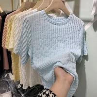 europe station 2021 new european pleated t shirt short sleeve summer design blouses womenshirt top fashion