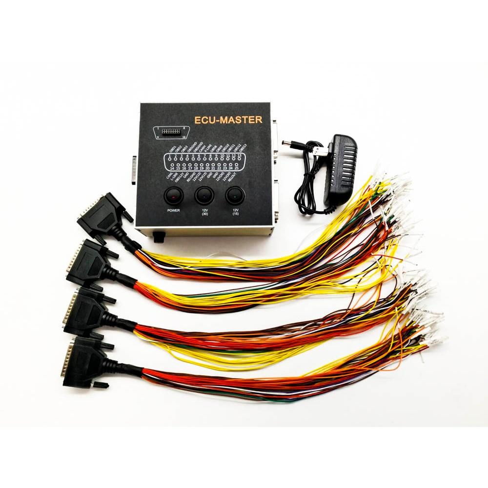 New ECU Master Connector Chip Tuning Ecumaster Key Programmer Code For Orange5 Xprog M Piasini Carprog Immo Off Repair MPPS VVDI