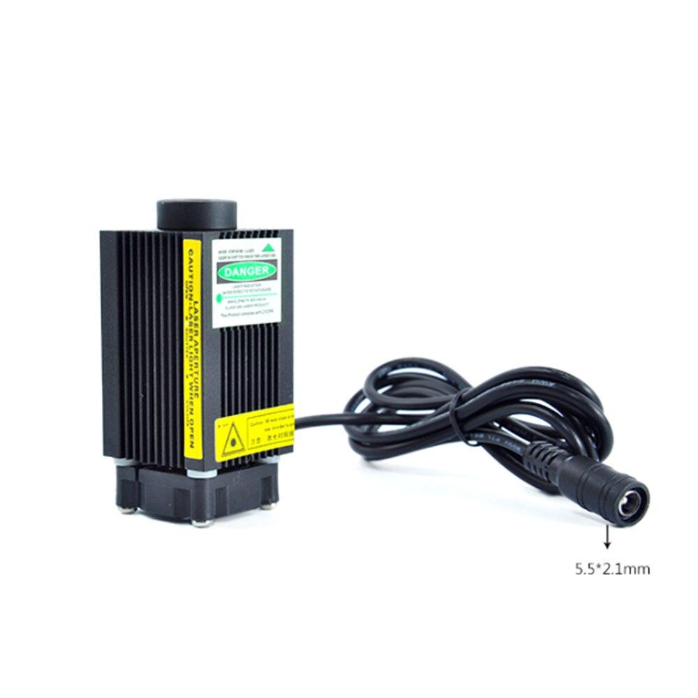 Фокусируемый 100 мВт 532 нм высокая мощность красный точка точечный лазер полупроводник модуль позиционирование лампа побег комната освещение