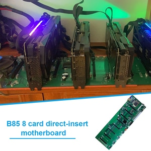 B85 Computer Motherboard BTC 8 Graphics Cards Slots DDR3 USB 3.0 SATA 3.0 Computer Motherboard for LGA 1150 CPU ETH