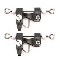 2pcs fishing trolling clip adjustable tension trolling clips release clips boating fishing for kite outrigger downrigger pesca