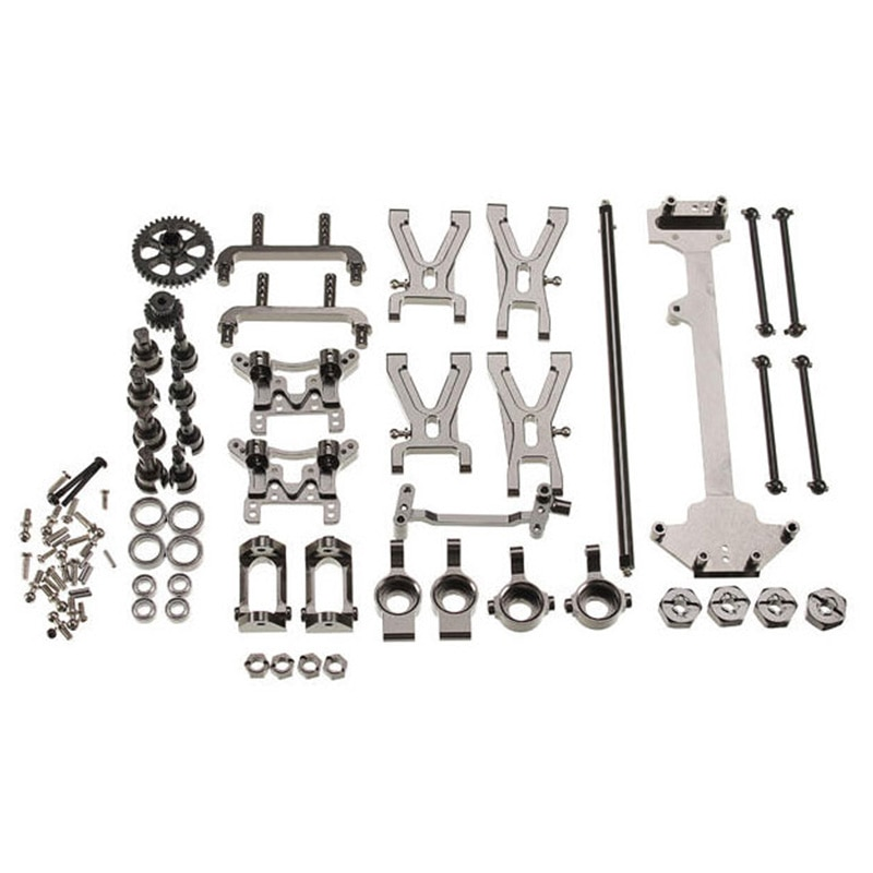 Hot Upgrade Metal Parts Accessories Kit for Wltoys K929 A959 A969 A979 A959B A979B 1/18 Remote Contr