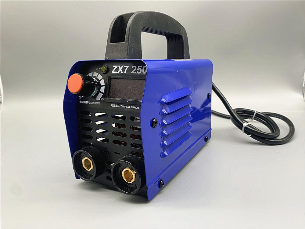250A 220v LED Display Welding Machine Compact Mini MMA Welder Inverter Welding Semiautomatic  Dc Welding Machine ARC Welding