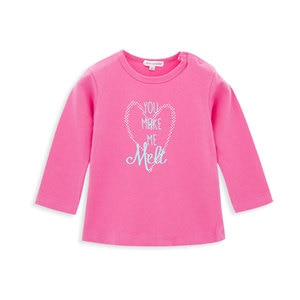 Kavkas ropa de nina Newborn Baby Clothing Toddler Girl Shirts Top Cotoon Letters Ice Cream Infant Girls Tees Cute Kids Clothes