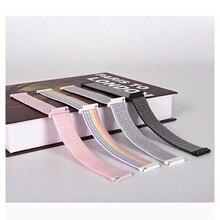 Bracelet en Nylon pour Bracelet tissé Sport Amazfit GTS Bracelet de montre pour Huami Amazfit Bip/GTR 42mm accessoires pour Bracelet Bip Amazfit