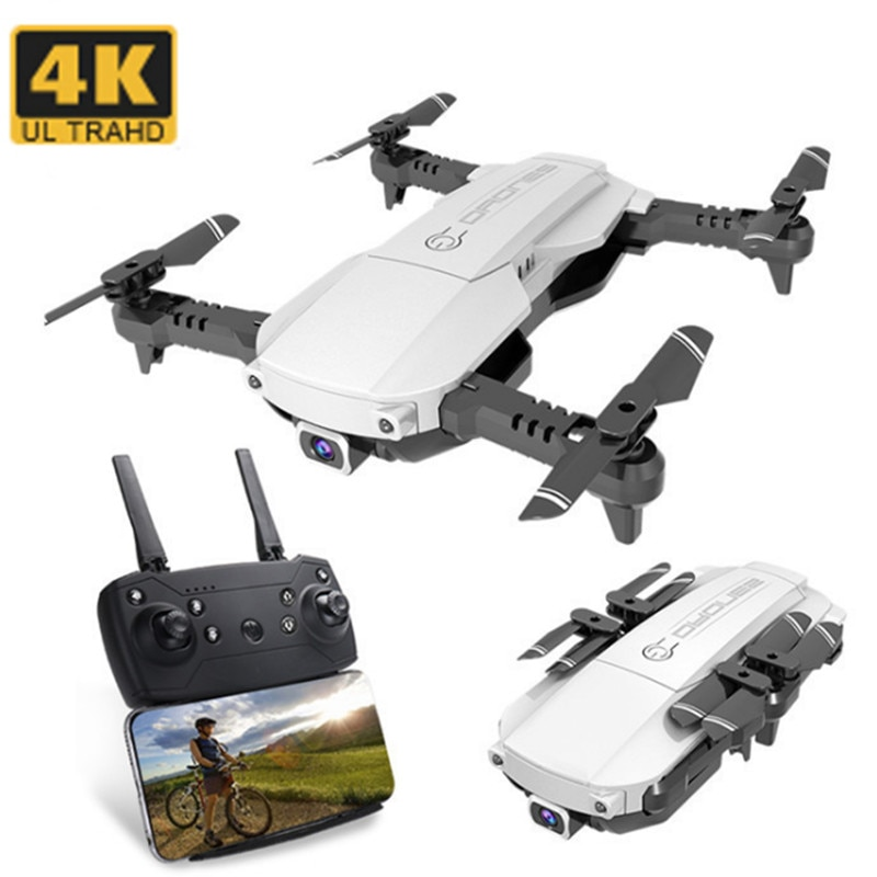 RC Drone HD Cámara 4K Wifi FPV flujo óptico posicionamiento gesto foto plegable RC Dron Quadcopter niños juguetes regalo