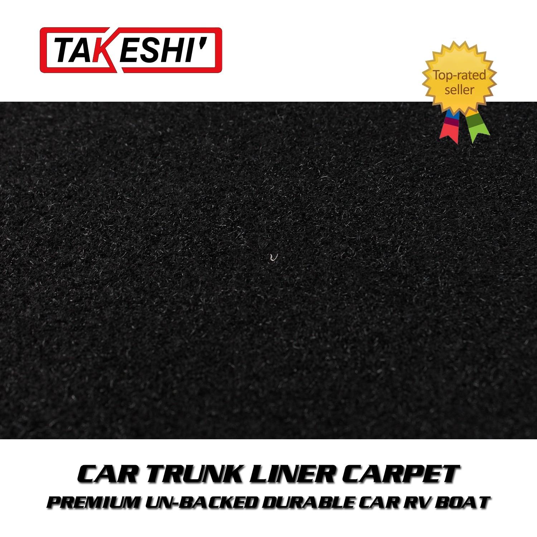 """108 """"x 78"""" preto auto revestimento tronco tapete forro corte-pilha underfelt feltro material"""