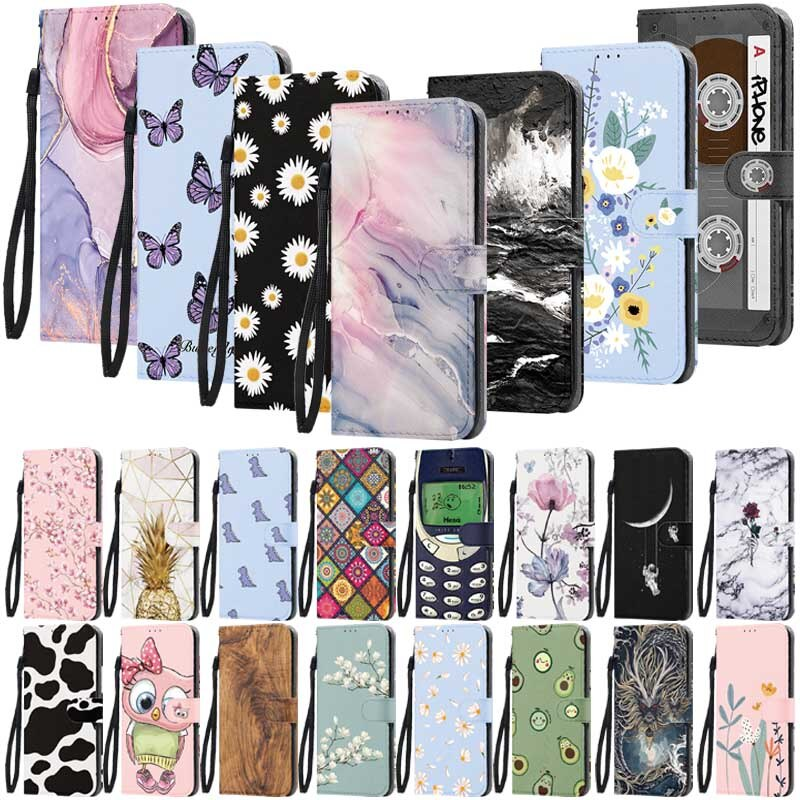 Covers Leather Cases For iPhone 11 12 Pro XS MAX Mini X XR SE 2020 For iPhone 7 8 6 6S 5 5S SE Plus Magnetic Wallet Custom Cover