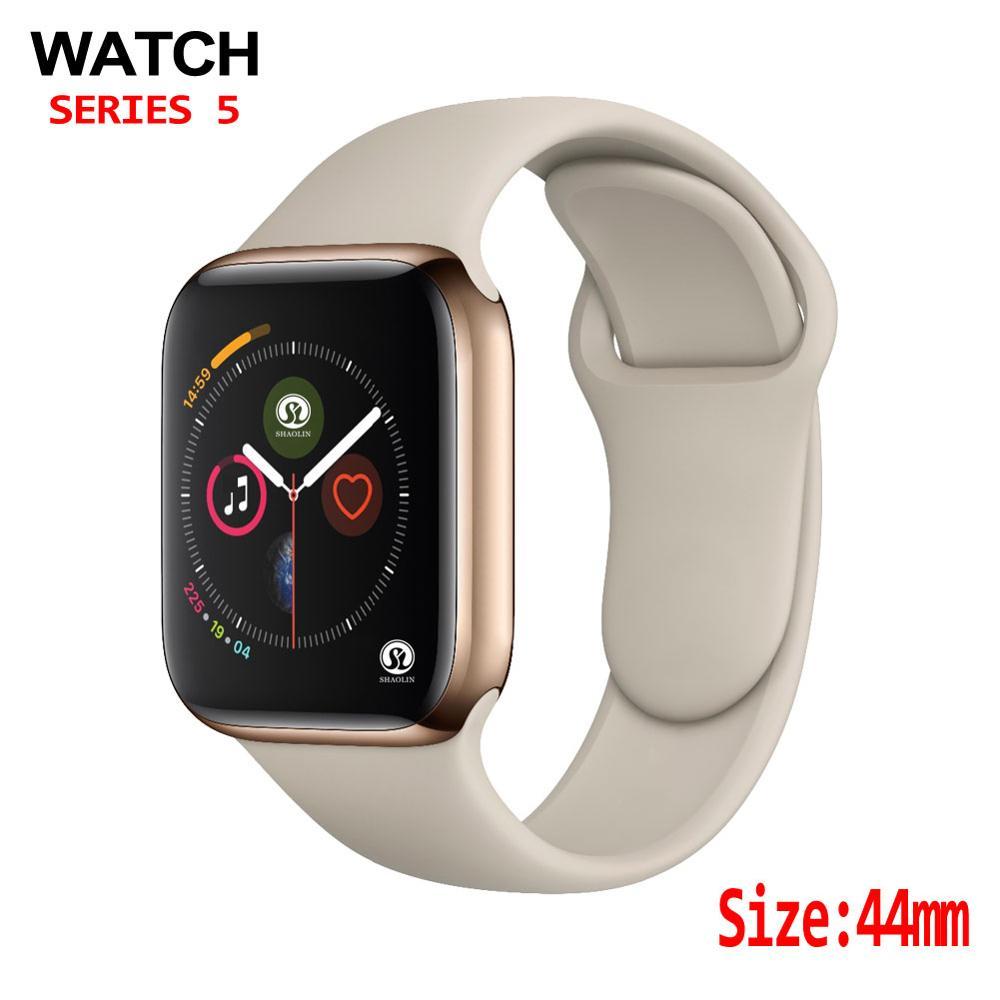 44mm Smart Watch 4 Heart Rate Men Women Smart Watch case for apple watch iPhone Android phone upgrade NOT apple watch