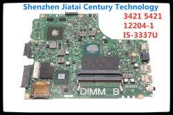 PARA Inspiron 15R 055NJX 55NJX Para dell 3441 3421 laptop motherboard CN-055NJX SR0XL I5-3337U 12204-1 testado