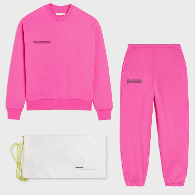 Solid Sweatsuit Set for Women Two Piece Outfits Oversized Sweatshirts Tops and Sweatpants Jogger Tracksuits Loose Trousers