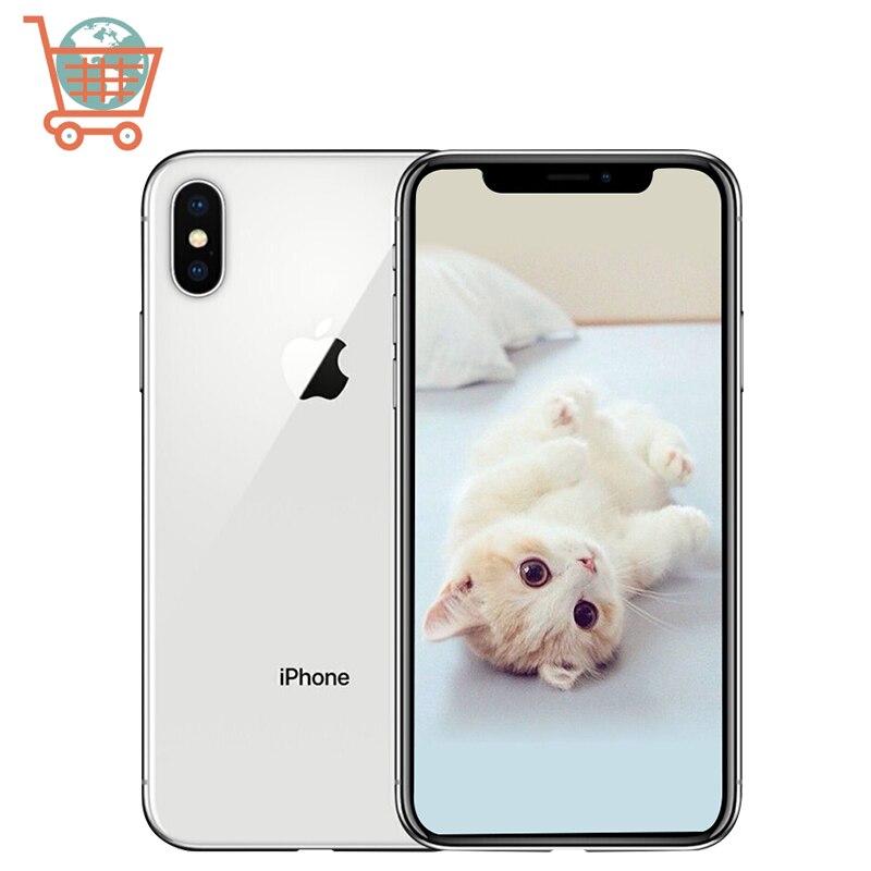 Unlocked Apple iPhone X 3GB RAM 64/256GB ROM 5.8inch iOS Hexa core Apple Phone 12.0MP Dual Back Camera 4G LTE Smartphone