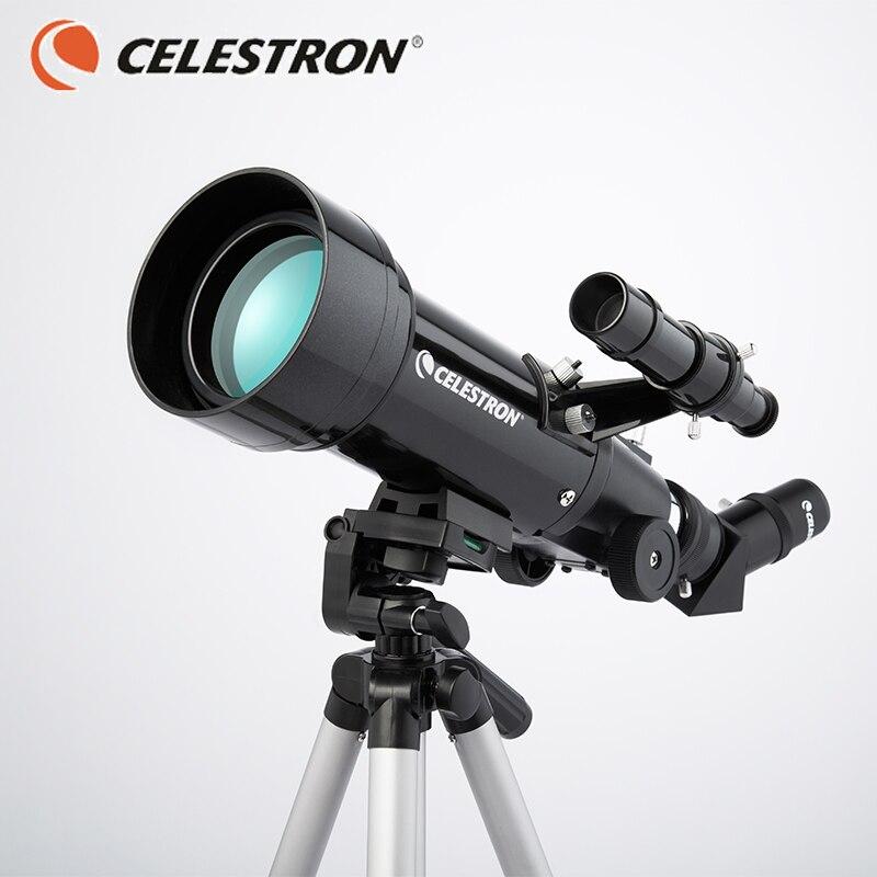 Le télescope CELESTRONastronomical est un observateur professionnel de 5000 enfants adultos dune hauteur de 70.400
