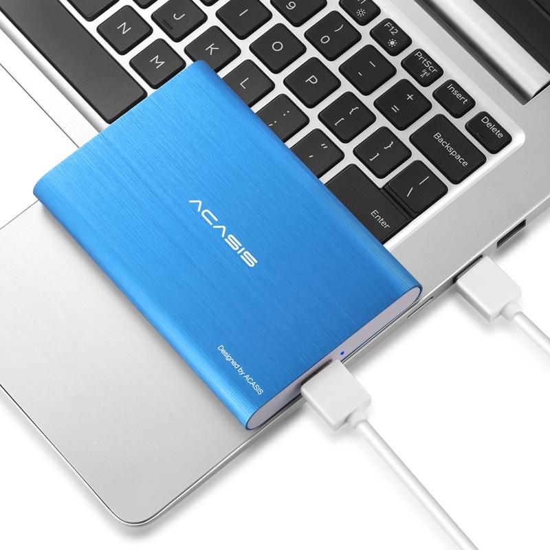 """Acasis 2.5 """"נייד חיצוני כונן קשיח 1t/500gb/2t USB3.0 HDD דיסק קשיח עבור מחשב שולחני 320gb"""