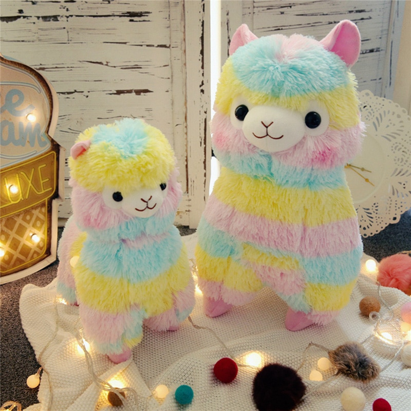 original feisty pets funny expression change face plush unicorn dog panada cat stuffed animals with keychain toys kids baby gift Alpaca Plush Toy Dolls for Children Baby Brinquedos Animals for Gift Toys for Children Stuffed toys Animals unicorn juguetes