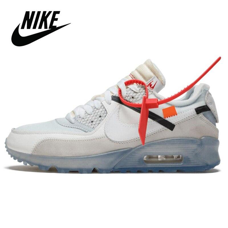 Zapatillas NIKE AIR MAX 90 originales para correr para hombre, zapatillas deportivas para exteriores, marcas de calzado atlético de diseñador AA7293-200