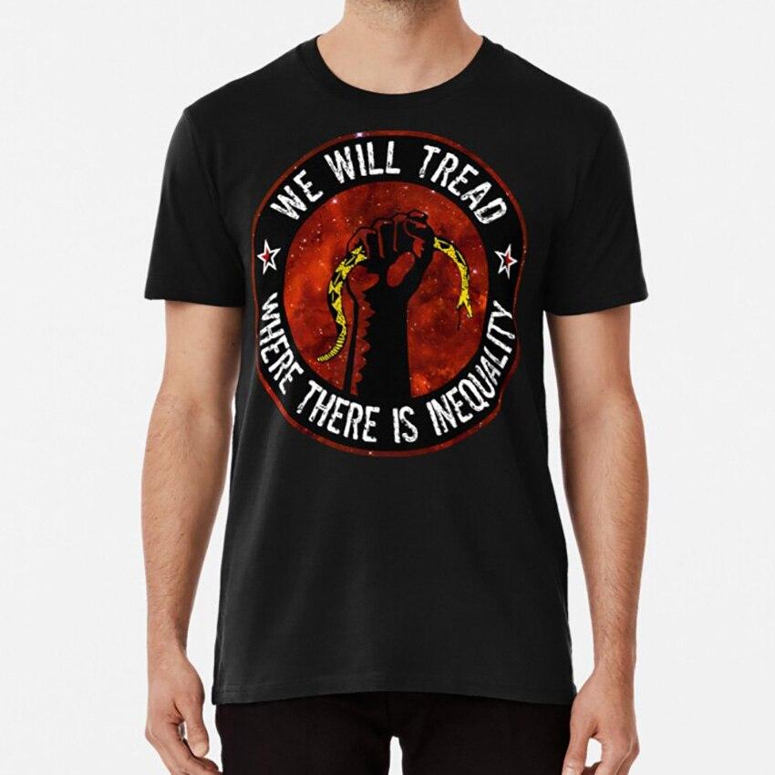 Vamos a pisar donde hay inequidades camiseta anarquía anarquista anarquismo anarquía pegatinas libertario