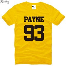 Liam Payne 93 One Direction 1D Rock Music Mens Men T Shirt Tshirt Fashion Summer New O Neck Cotton T-shirt Tee Camisetas Hombre