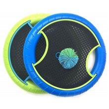 Trampolina Super Disc F Risbee Bounce Game z gumką piłeczka do odbijania (2 rakiety i 1 piłka)