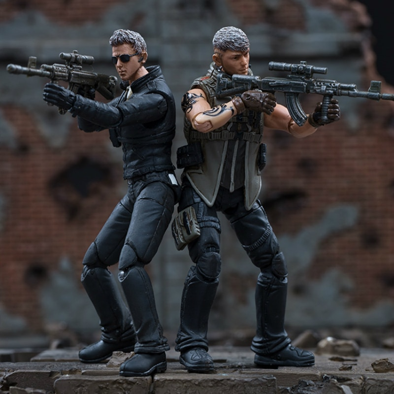 aliexpress.com - JOYTOY 1/18 Action Figure CF Defense WOLF and BLADE Soldier Model  Free Shipping
