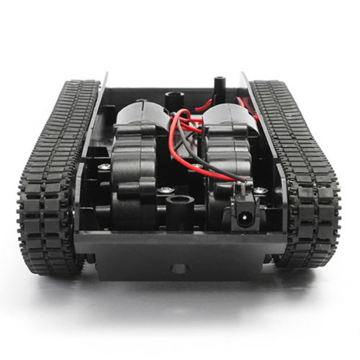 Robot Tank Smart Robot Tank Car Chassis Kit Rubber Track Crawler For Ar dui no 130 Motor Diy Robot T
