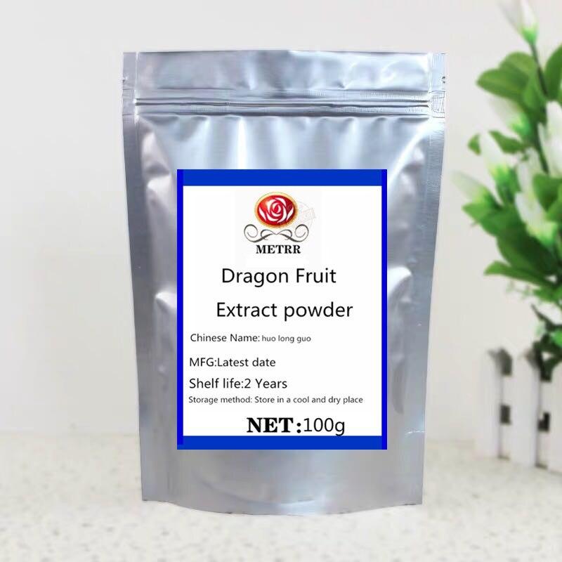 Pó orgânico premium do suco de pitaya, contendo antioxidantes da albumina da planta, ajuda a excretar toxinas do metal pesado