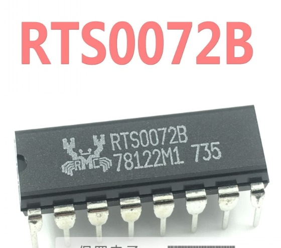 150 قطعة RTS0072B RTS0072 DIP-16 جديد