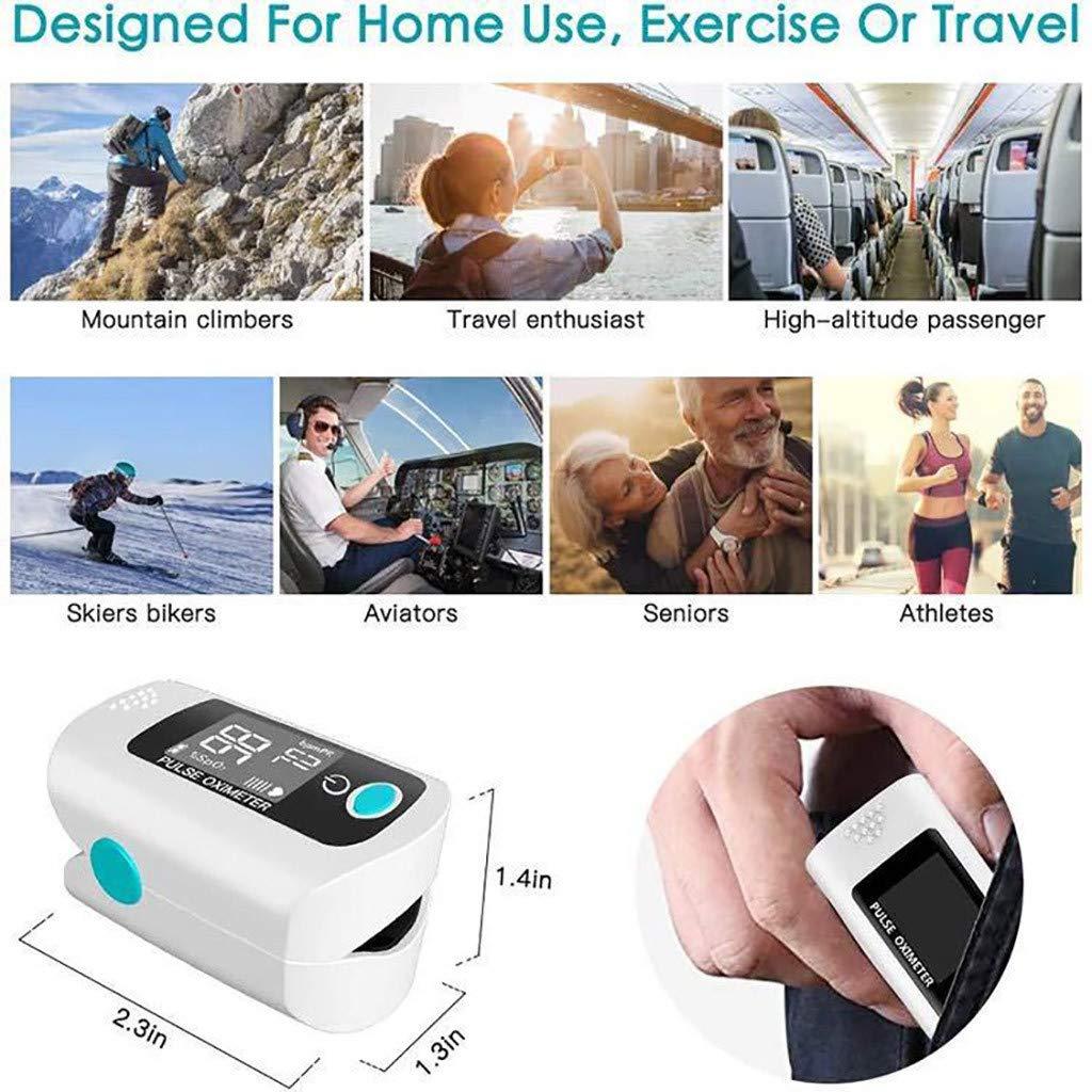Pulsioximetro Pulse Oximeter Household Finger Oximeter Blood Oxygen Saturation Meter Heart Rate Monitor Health Care Tonometer