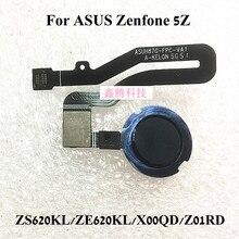Scanner Original de capteur dempreinte digitale pour ASUS Zenfone 5Z ZS620KL ZS620KL ZE620KL X00QD Z01RD