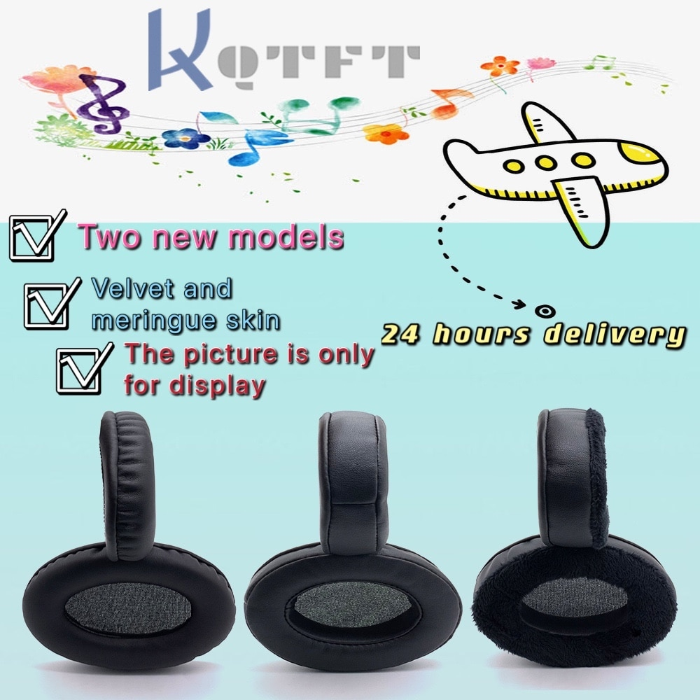 Earpads Velvet for Sony MDR-RF895RK MDR RF895RK RF-895RK Headset Replacement Earmuff Cover Cups Sleeve pillow Repair Parts