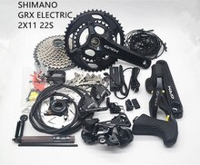 Shimano Grx Di2 RX815 Road Grind Fietsen Elektronische Kit 2X11 22S Speed Racefiets Hydraic Schijfrem pak