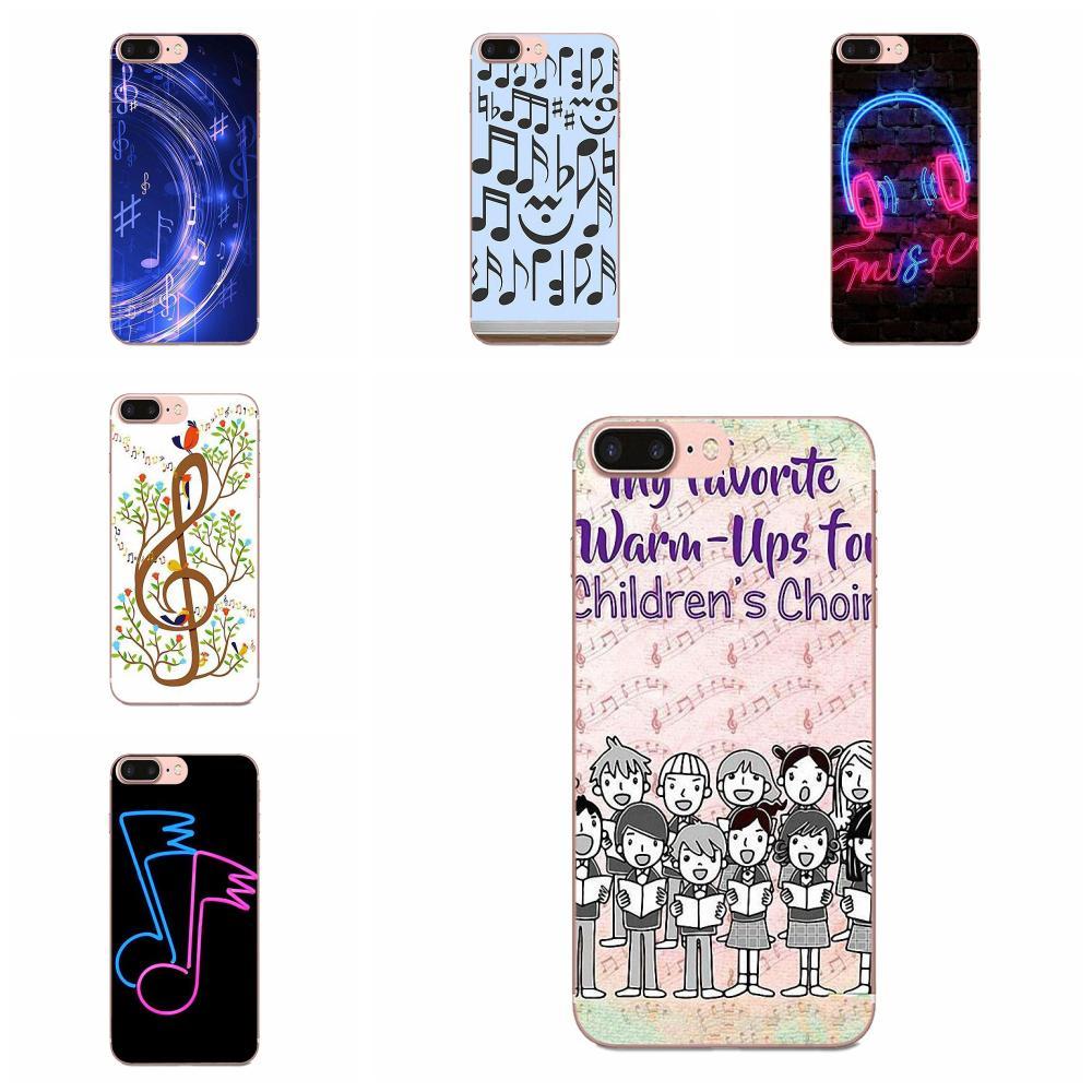 Note musicali Violino Classico Per Xiaomi Redmi 3 3S 4 4A 4X 5 6 6A 7 K20 Nota 2 3 4 5 5A 6 7 Plus Pro Colourful Stile