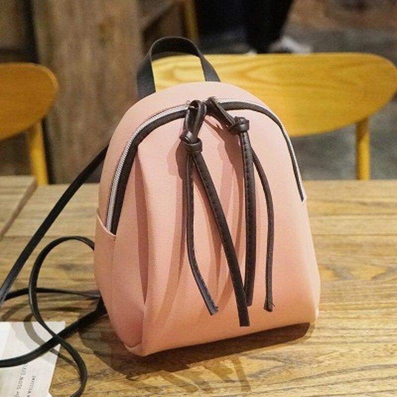 Маленький кожаный рюкзак для женщин, летняя многофункциональная мини-сумка на плечо, школьный портфель для девочек-подростков, 2021