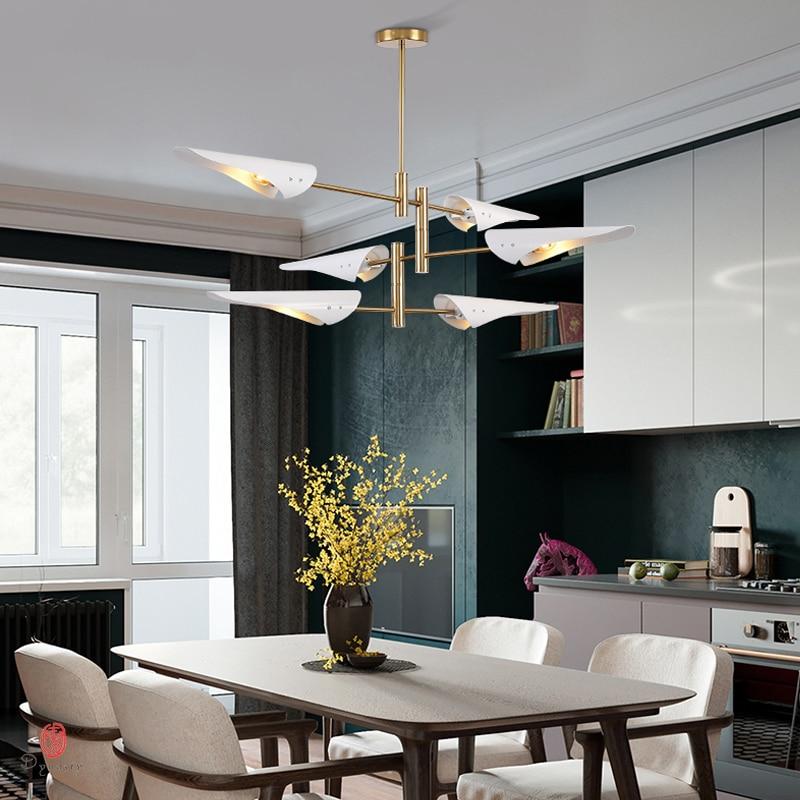 Industry Pendant Lamp Europe Style Hanging Lights Modern Metal Creative E27 Foyer Bedroom Shop Lighting Fixture