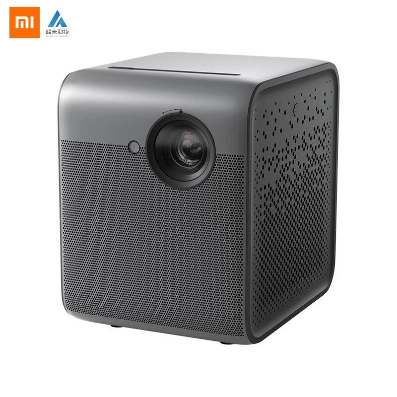 Original Xiaomi Fengmi inteligente Lite DLP 3D proyector 550 lúmenes Ansi 1080P 4K Android 2 + 16GB Smart proyector de cine en casa