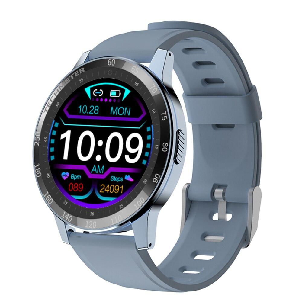 696 New H20 Smart Watch Full Touch Screen Fitness tracker Heart Rate Blood Pressure Sport Watch Men Women Smartwatch PK DT78 T6