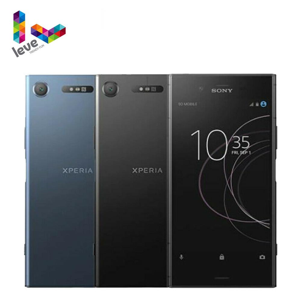 Разблокирована Sony Xperia XZ1 G8341 1SIM мобильный телефон 5,2 дюйм 4 Гб оперативной памяти, 64 Гб встроенной памяти, Octa Core, 19MP 4 аппарат не привязан к оператор...