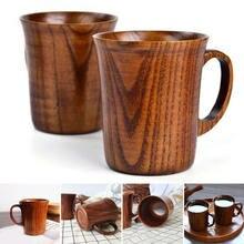 Natürliche Jujube Holz Tasse Handgemachte Holz Kaffee Bier Becher Frühstück Bier Milch Drink Tee Tasse Hause Dekoration