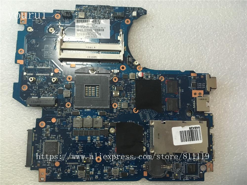 لوحة أم yourui 670795-001 670795-601 670795-501 For HP Probook 4530 4730 لوحة أم 100% تم اختبارها