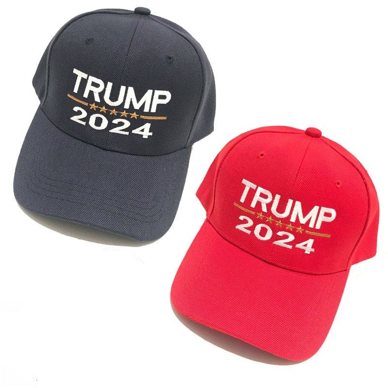 Trump 2024 President Donald Trump Keep America Great MAGA KAG Quality Cotton Cap Baseball Hat with Free Gift