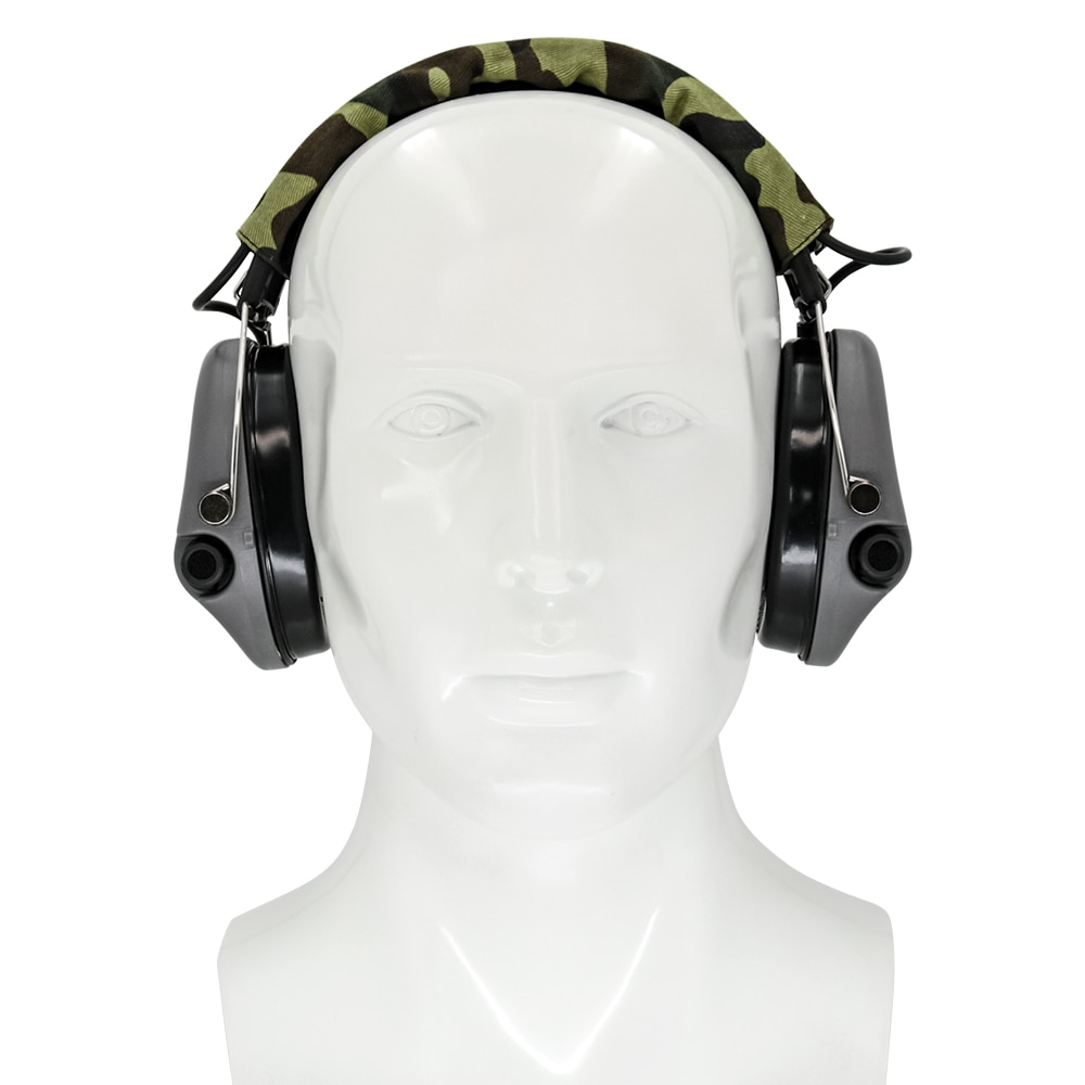 tci ipscheadsetTactical Headphones Standard Shooting Earmuffs Airsoft Outdoor Sports Tactical Headphones Without Microphone Gray