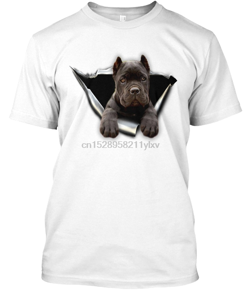 Hombres camiseta cane corso 3D pegatina camisetas mujeres camiseta