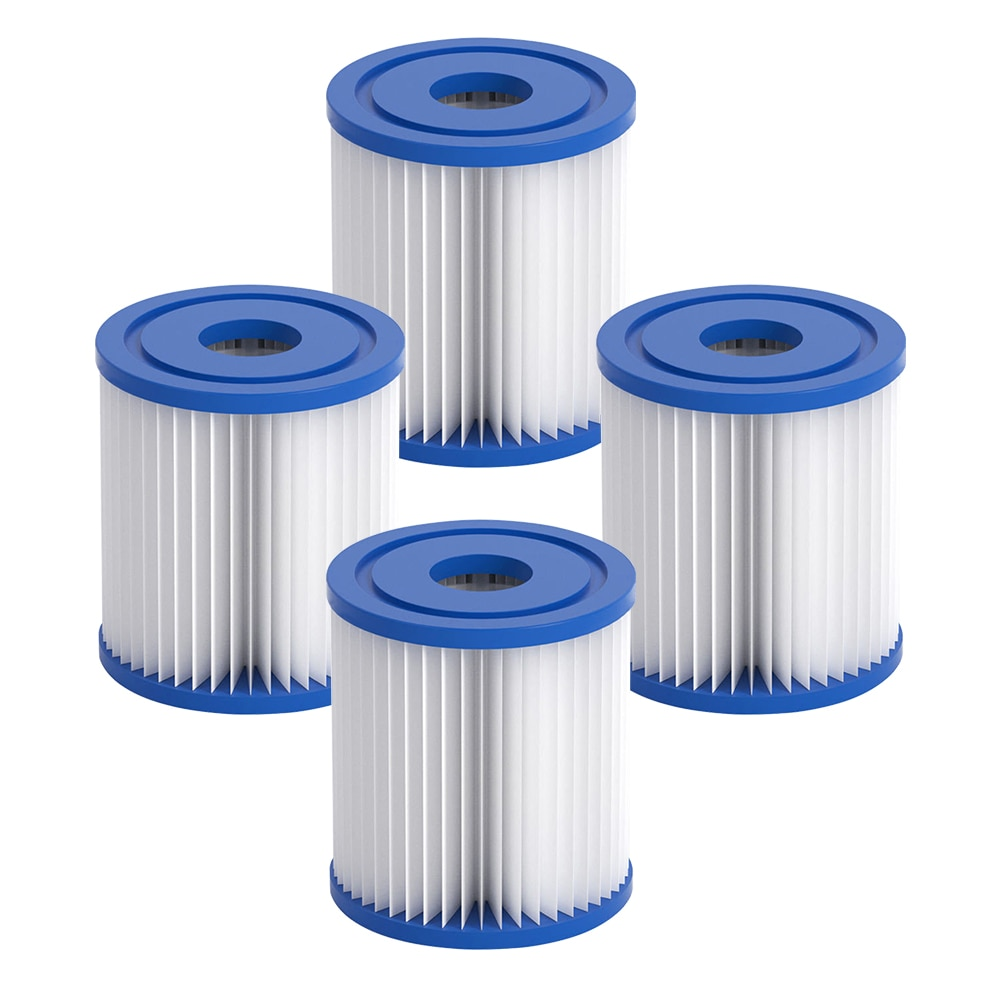 Swimming Pool Filter Cartridge SIZE VI for Bestway VI Swimming Pool 58323 Lay-Z-spa PUMP TYPE VI Cartridge Pool Filter swimming pool filter water pump filter pump lay in clean spa hot tub s1 washable bio foam 2 4 x uk vi lazy z type filter